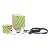 Комплект ГРМ с помпой на Fiat Doblo 1.9JTD - Multijet | SNR KDP458.330