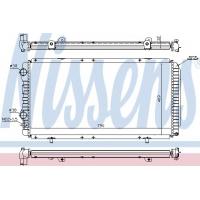 Основной радиатор на Ситроен Джампер 1,9-2,8HDi | NISSENS 61390