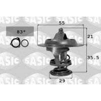 Термостат на Ситроен Джампер 1.9D/TD-2.0HDi 94-2006| SASIC 3381231