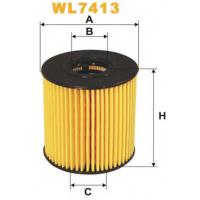 Фильтр масляный на Citroen Jumper 2006- | WIX WL7413
