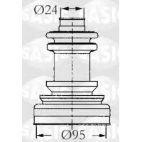 Пыльник ШРУСа наружного Ситроен Джампер 1.0-1.4t 1994-2002 | METALCAUCHO 01579