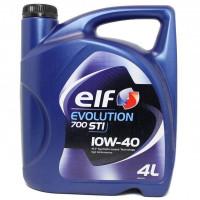 Моторное масло ELF 10W40 Evolution 700 STI (4 литра) Оригинал !!!  | ACEA A3/B4