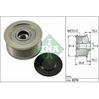 Шкив - муфта генератора Фиат Добло 1.9 JTD - Multijet | Ina 535 0115 10