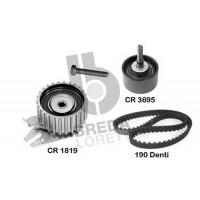Комплект ГРМ на Fiat Doblo 1.9JTD - Multijet | Breda Lorett KCD0006