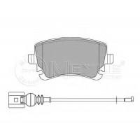 Колодки тормозные  задние VW  T5 03-  (R16 )  2003-  | MEYLE