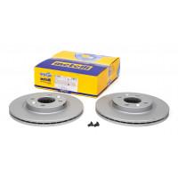 Тормозной диск передний 1997-2008 (259mm) Рено Кенго | Metelli 23-0549C