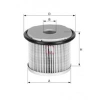 Фильтр топливный Renault Kangoo 1.9D высокий (для корпуса Lucas) | Clean Filters MG083