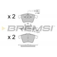 Колодки передние VW  T5 03- (R16 )  2003-    BREMSI