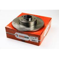 Тормозной диск задний  2001- (280mm) Trafic/Vivaro |Goodrem RM3026