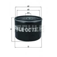 Масляный фильтр  1.9 Dci с клапаном Renault Trafic|Knecht OC727