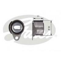 Ролик ГРМ без пластины Renault Trafic/Vivaro 1.9 dci | Gates T41157